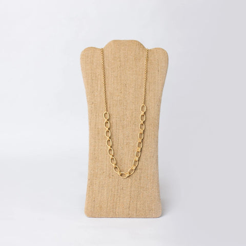 Chunky Gold Plated Necklace - Swara Jewelry