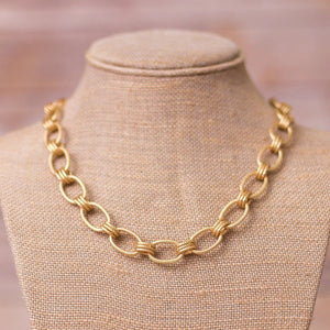 Chunky Chain Necklace - Swara Jewelry