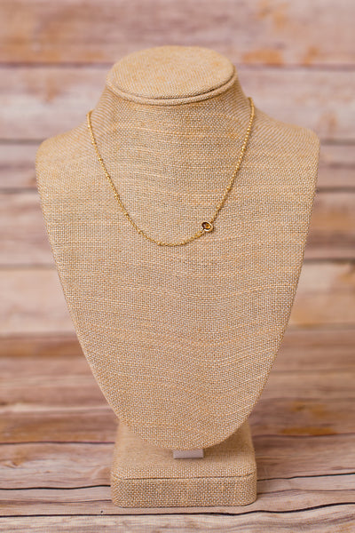 Petite Necklace with Pendant - Swara Jewelry