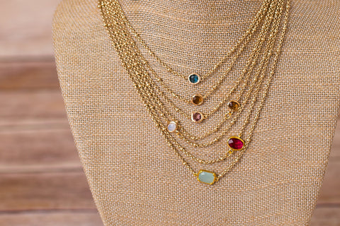 Petite Necklace with Pendant