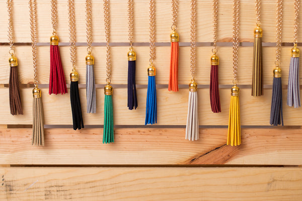 Tassel Necklace - Swara Jewelry