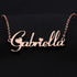 Sterling Silver Personalized Name Necklace - Custom Made Any Name Favetsy - Favetsy