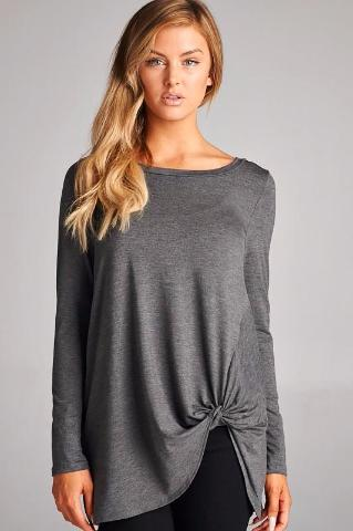Caden Side Knot Top