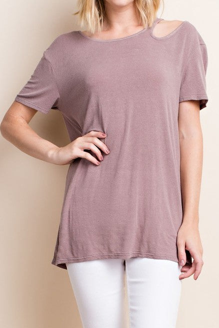 Crosby Shoulder Cutout Top
