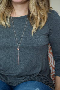 Knot Without My Tassel Necklace