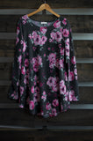 Wentz Floral Sweater Dress