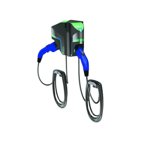Turbodock Electric Vehicle Charging Station Dual Port