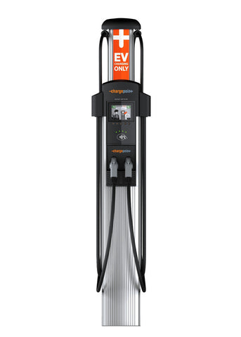 ChargePoint CT4021 Dual Plug Bollard Add On EV Charging Station