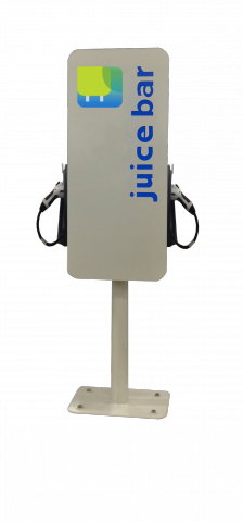 Mini Bar ™  Double by Juice Bar® Electric Vehicle Charging Station