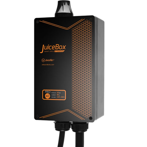 JuiceBox Pro Smart Wifi Connected 40 Amp / 10kW Electric Vehicle Charging Station