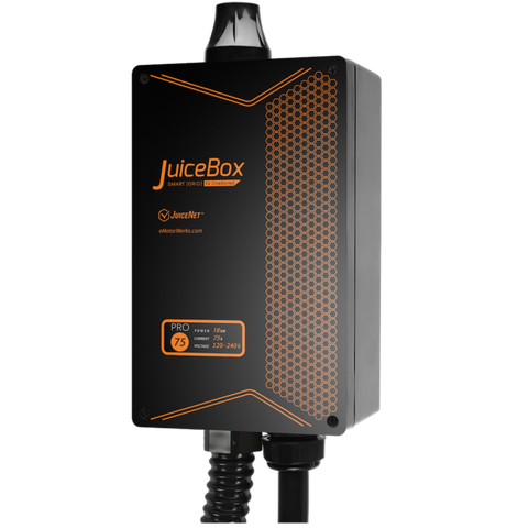 JuiceBox Pro 75 WiFi connected, Smart 75A / 18 kW Electric Vehicle Charging Station