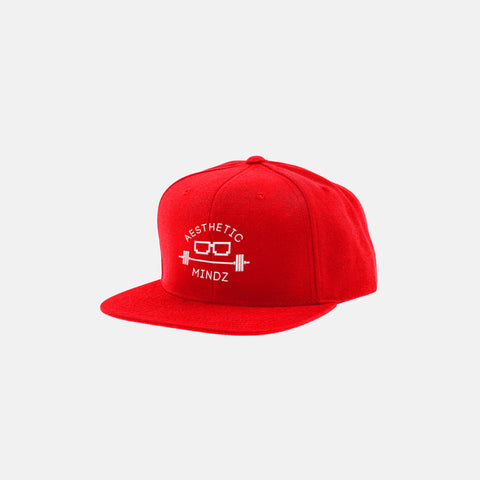 Aesthetic Mindz Logo Hat (Red)