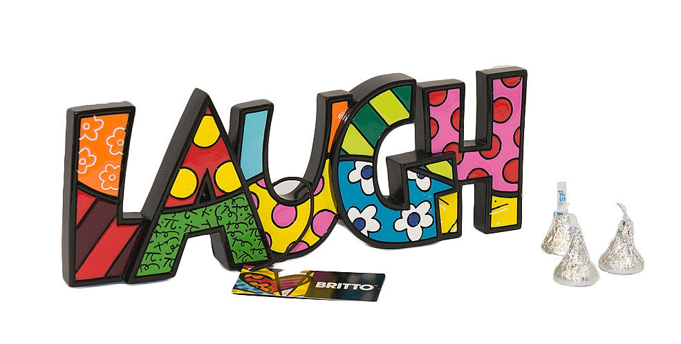 Britto Shelf Sitter... Laugh