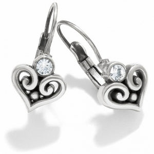 Alcaar Heart Lverback Earrings
