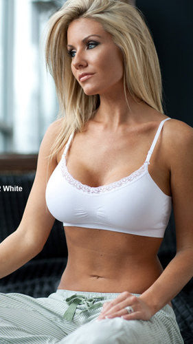 Coobie Lace Bra Solid Color