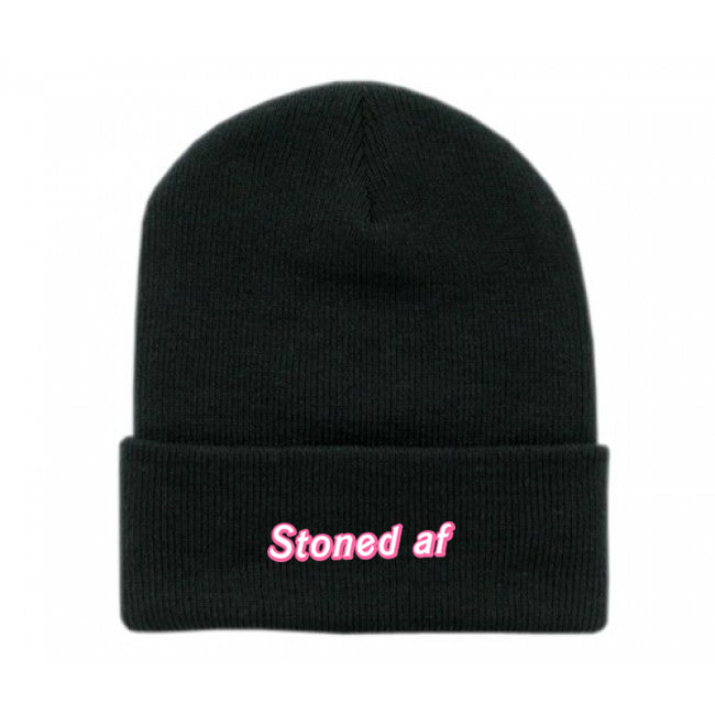 Stoned AF Beanie - Bong Beauties