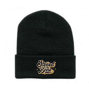 Stoned To The Bone Beanie - Bong Beauties