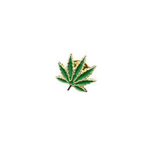 Weed Leaf Pin - Bong Beauties
