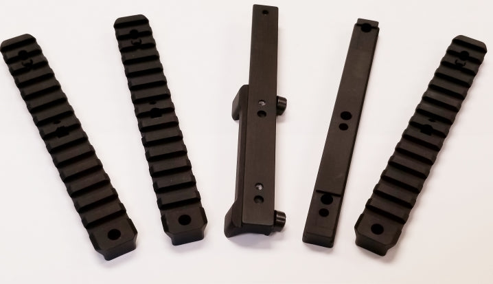 Modular Rail Kit for Blaser - includes Saddle mount, three interchangeable Picatinny Rails (0, 20, and 30 MOA) & Talley Base compatible with Talley Premium Steel Rings