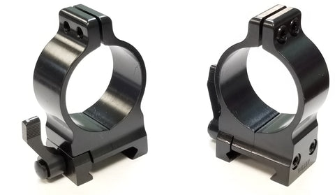 Talley Signature Quick Detachable Picatinny Rings (TSPxxx)