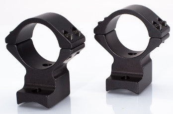 Weatherby Accumark, Magnum, Mark V (9 Lug) Alloy Light Weight Ring Base Combination (xxx705 series) - store.TalleyScopeRings.com - 1