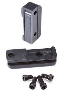 Ruger 10/22 Steel Bases for 22RFR Rimfire 22 Rings -- 220707 - store.TalleyScopeRings.com