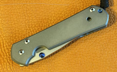 Chris Reeve Large Sebenza 21, Plain, Right Handed - store.TalleyScopeRings.com - 3