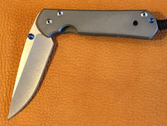 Chris Reeve Large Sebenza 21, Plain, Right Handed - store.TalleyScopeRings.com - 1