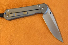 Chris Reeve Large Sebenza 21, Plain, Right Handed - store.TalleyScopeRings.com - 2