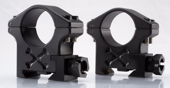 PICATINNY / TACTICAL RINGS (4 SCREW) PRODUCT LINE (for use on a picatinny base/rail) - store.TalleyScopeRings.com - 1