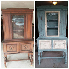 Buffet and Hutch makeover
