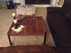 Custom order Coffee Table for a ship captain