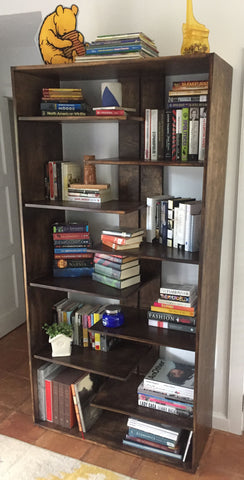 contemporary modern bookcase