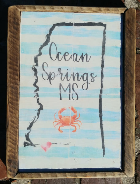 Ocean springs home decor Mississippi