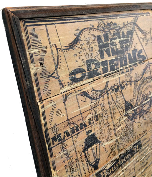 New Orleans Design: New Orleans Vintage Style Wall Art