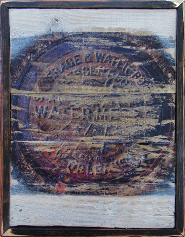 New Orleans Watermeter Rustic Wall Art