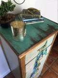 Seahorse Watercolor 6 Drawer Chest