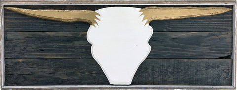 Longhorn Bull Head Wall Decor