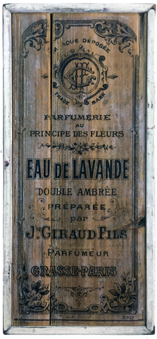 French Vintage Style Perfume Sign