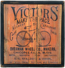 Vintage Style Bicycle Company Sign