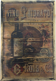 Winery Italian Vintage Style Priory Wall Art