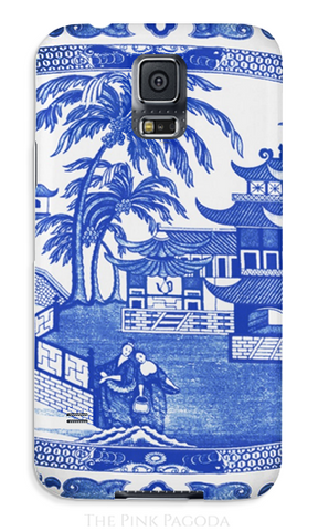 Blue and White Canton Phone Case - Samsung , Phone Case - The Pink Pagoda, The Pink Pagoda