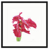 Framed Red Tulip Mercer Slim / 8x8 (14x14), Art Print - The Pink Pagoda, The Pink Pagoda  - 5
