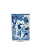 Blue and White Vases: Set of Five