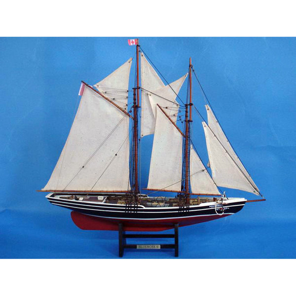 My Parlor Room - Wooden Bluenose 2 Limited Model Sailboat 24 inch - My Parlor Room