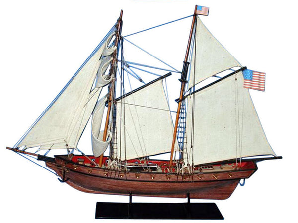 My Parlor Room - Wooden Prince de Neufchatel Model Ship 24 inch - My Parlor Room