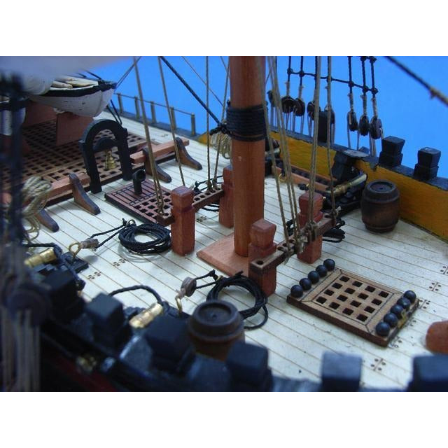 Handcrafted Nautical Decor - Master and Commander HMS Surprise Tall Model Ship 38 inch Limited - My Parlor Room