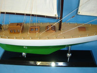 My Parlor Room - Wooden Reliance Limited Model Sailboat Decoration 33 inch - My Parlor Room