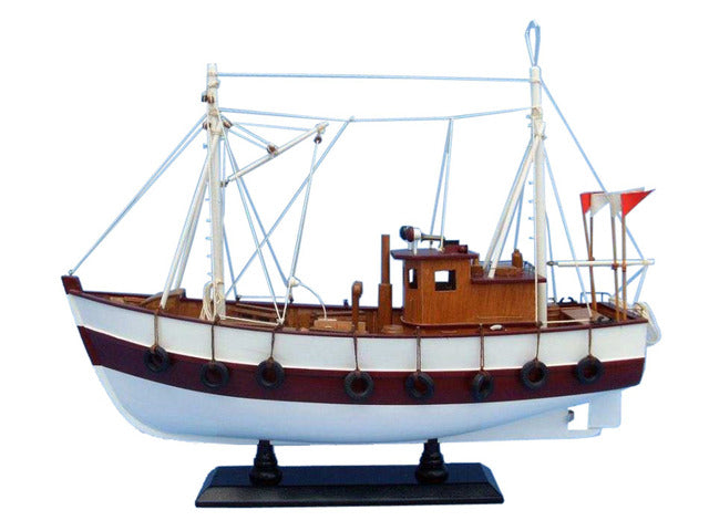 Wooden Cabin Fever Model Boat 19 inch