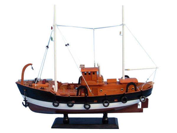 My Parlor Room - Wooden Fish Tank Model Boat 20 inch - My Parlor Room